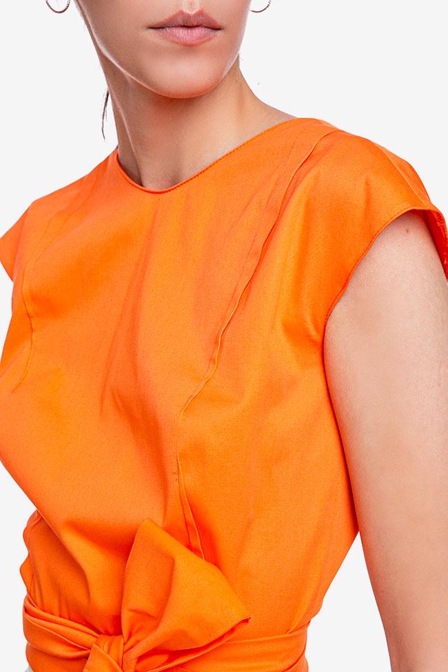 Blouse «Orange Sun» avec découpe au dos Esa  image 2