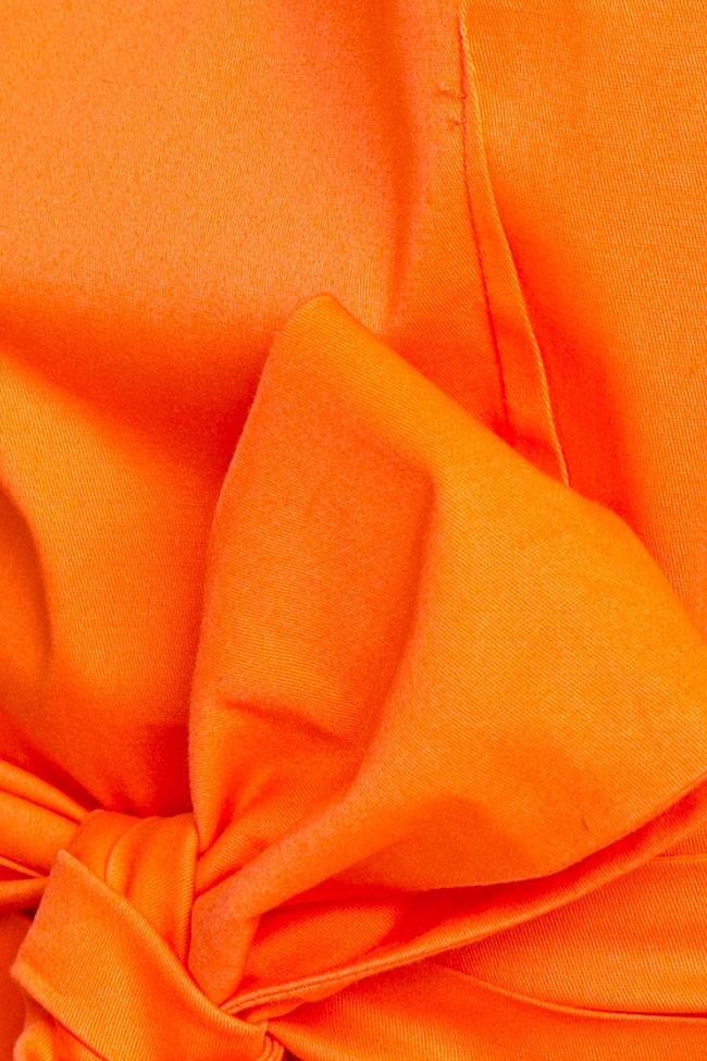 Blouse «Orange Sun» avec découpe au dos Esa  image 4