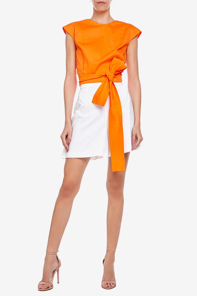 Blouse «Orange Sun» avec découpe au dos Esa  image 1