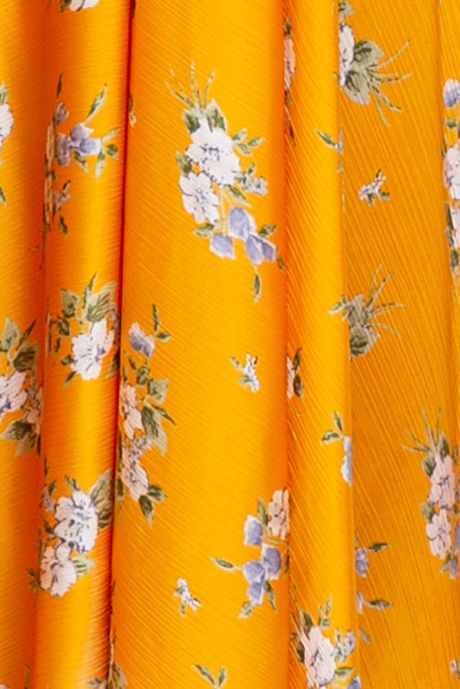 Robe «Summer Bouquet» en voile de soie Esa  image 4