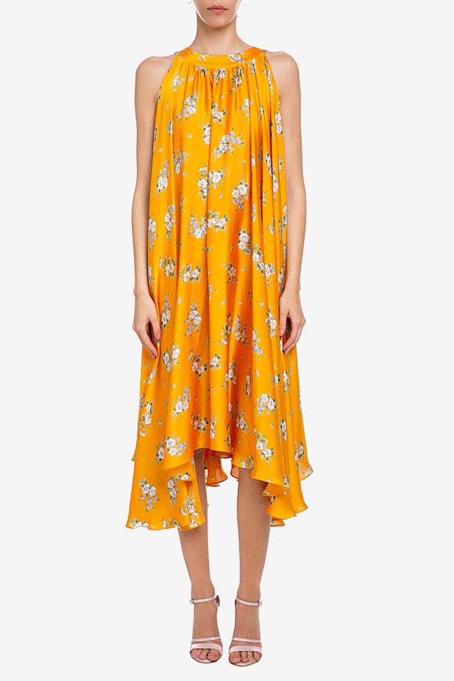 Robe «Summer Bouquet» en voile de soie Esa  image 1
