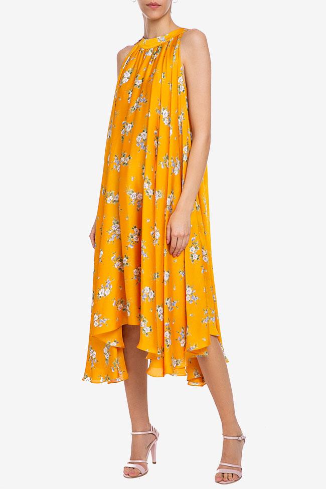 Robe «Summer Bouquet» en voile de soie Esa  image 0