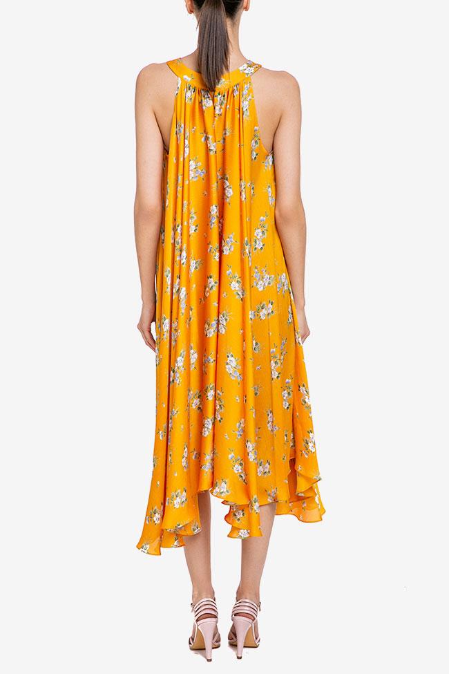 Robe «Summer Bouquet» en voile de soie Esa  image 2