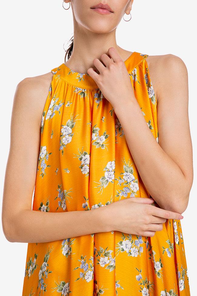 Robe «Summer Bouquet» en voile de soie Esa  image 3
