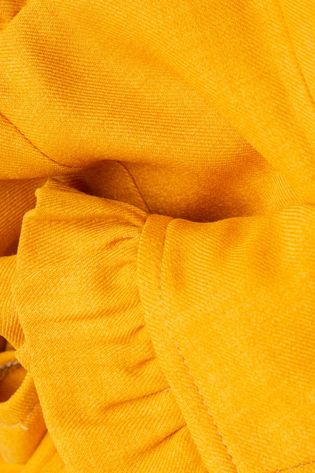 La blouse «Raya» en mélange de lin et viscose VIGO image 4