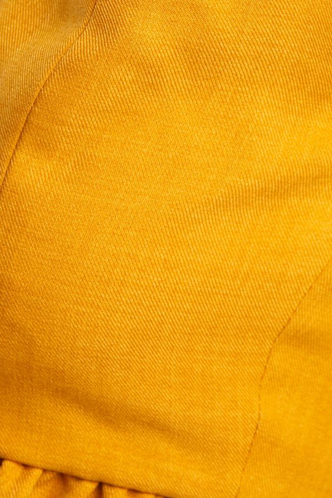 Pantalon «Raya» en mélange de lin et viscose VIGO image 4