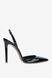 Ginissima Chaussures avec découpe au talon en cuir verni