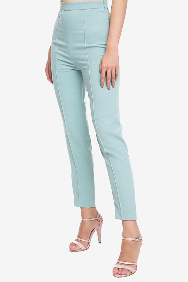 Pantaloni din crep cu dunga M Marquise imagine 1