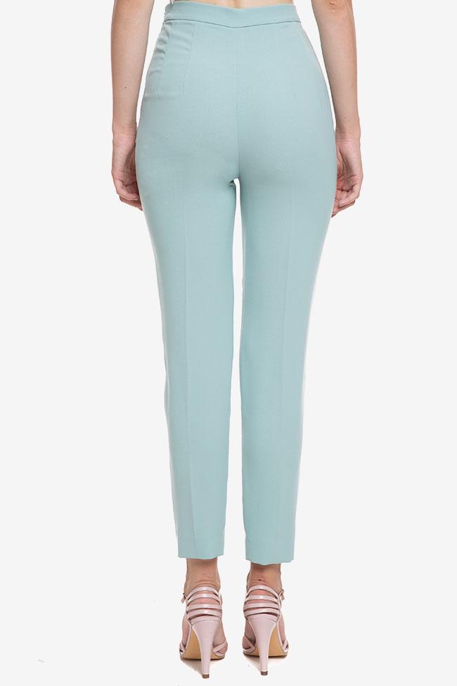 Pantaloni din crep cu dunga M Marquise imagine 2