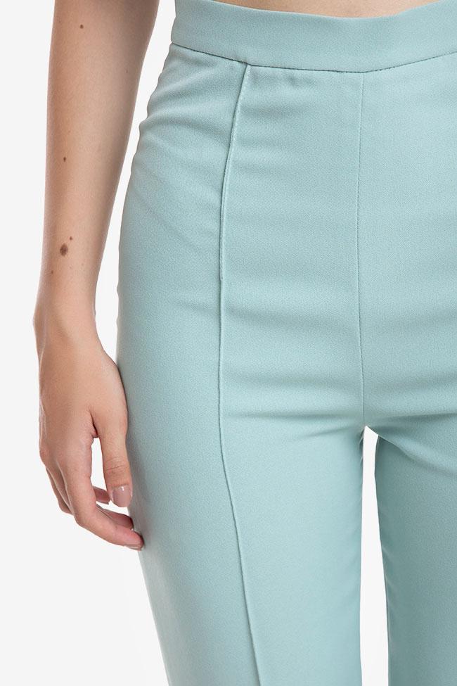 Pantaloni din crep cu dunga M Marquise imagine 3