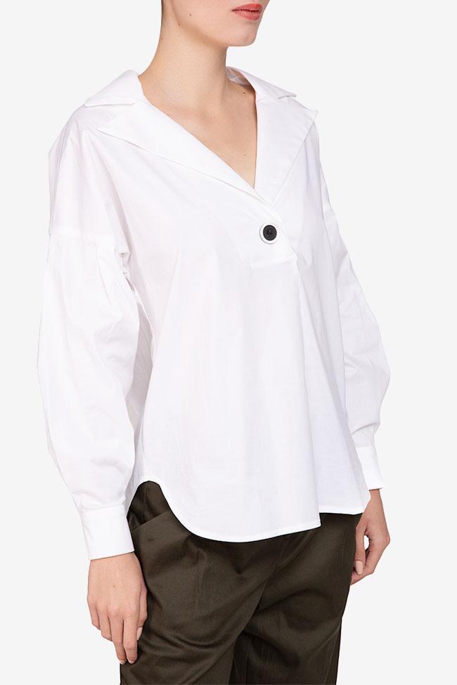Camasa alba din bumbac Undress imagine 1