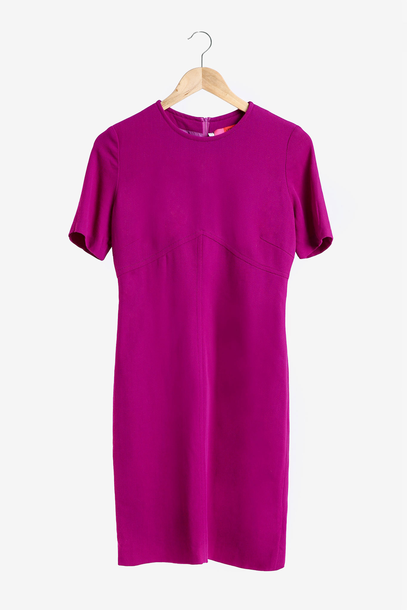 Rochie din lana fuchsia UNGARO SECOND HAND imagine 0