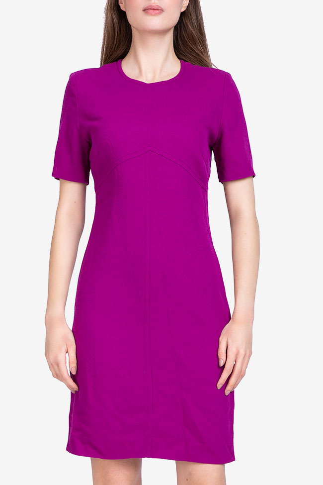 Rochie din lana fuchsia UNGARO SECOND HAND imagine 1