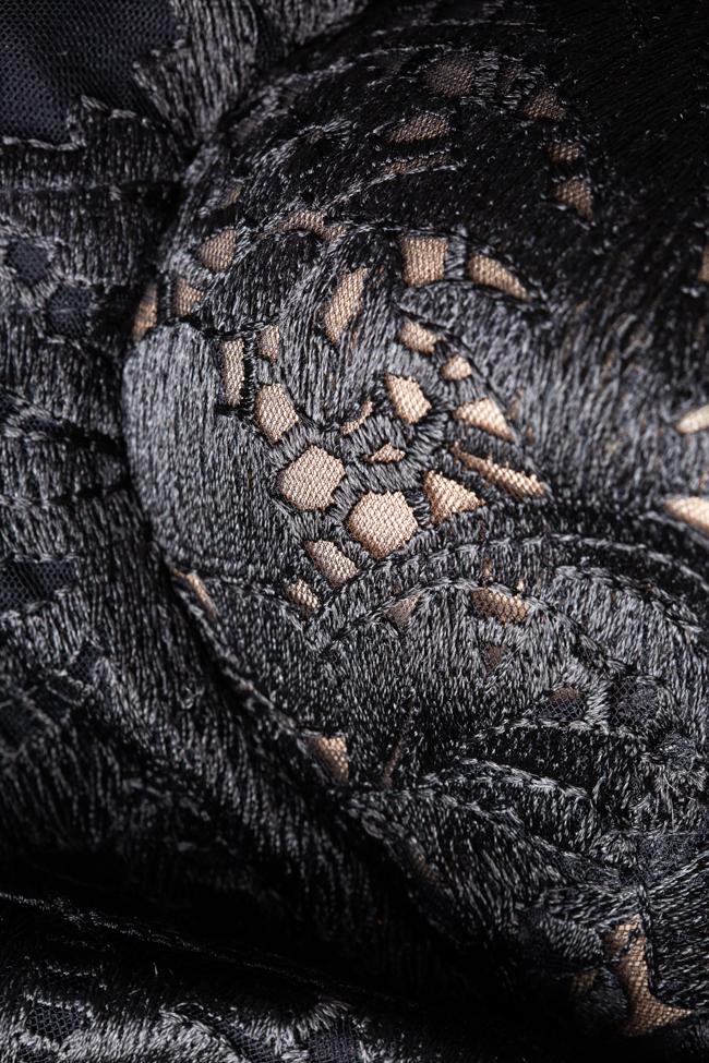 Rochie lunga neagra Ana Radu imagine 2