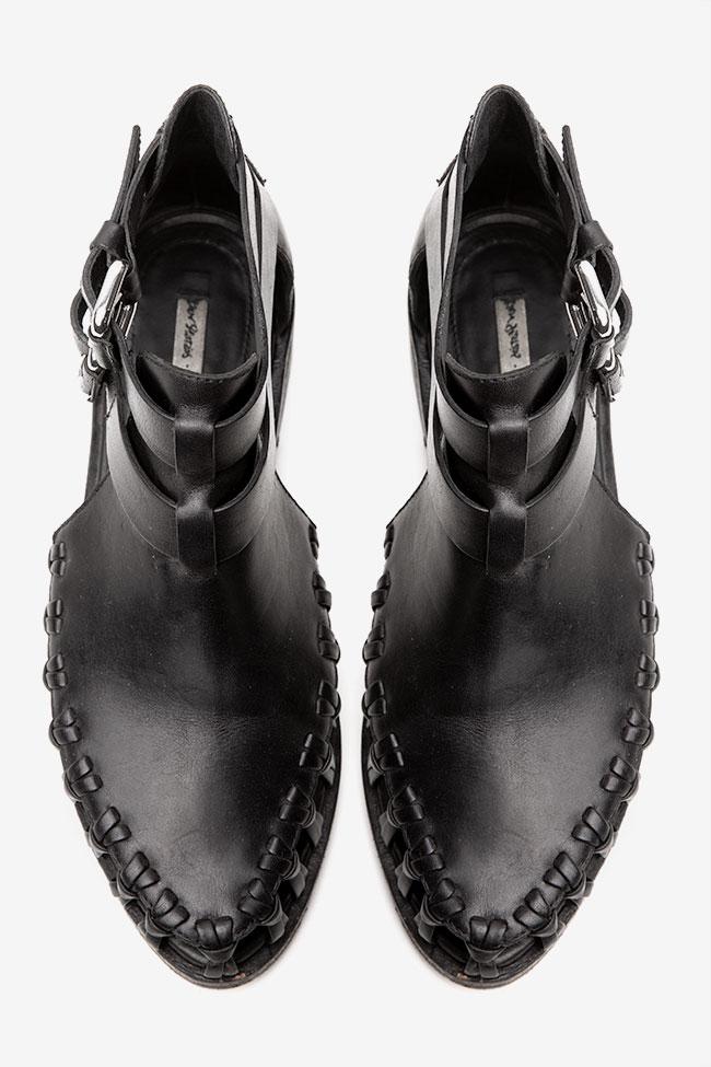 Sandale negre cu decupaje &other Stories imagine 1