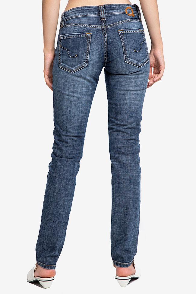 Blugi bleumarin SOS Jeans imagine 1