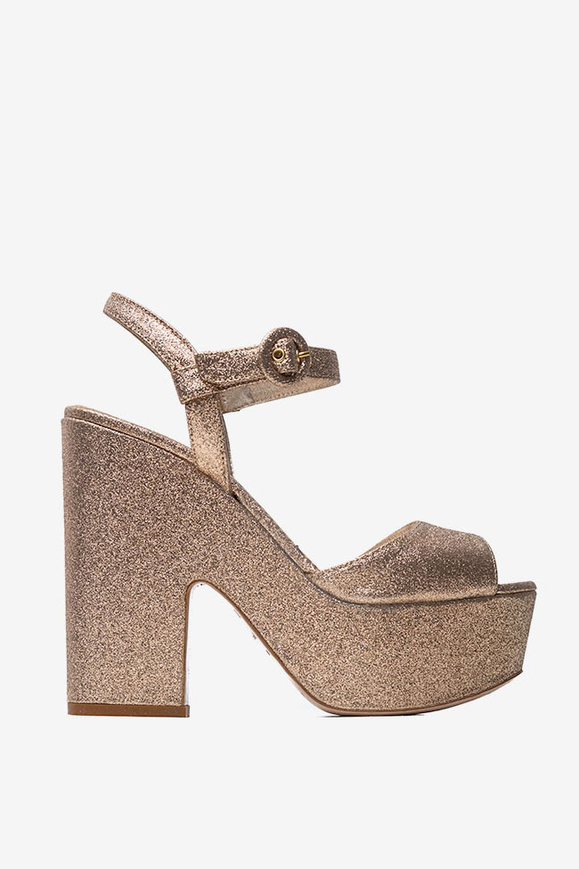 Sandale cu talpa groasa Le Silla imagine 0