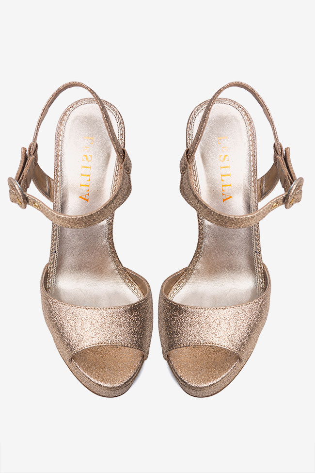 Sandale cu talpa groasa Le Silla imagine 1