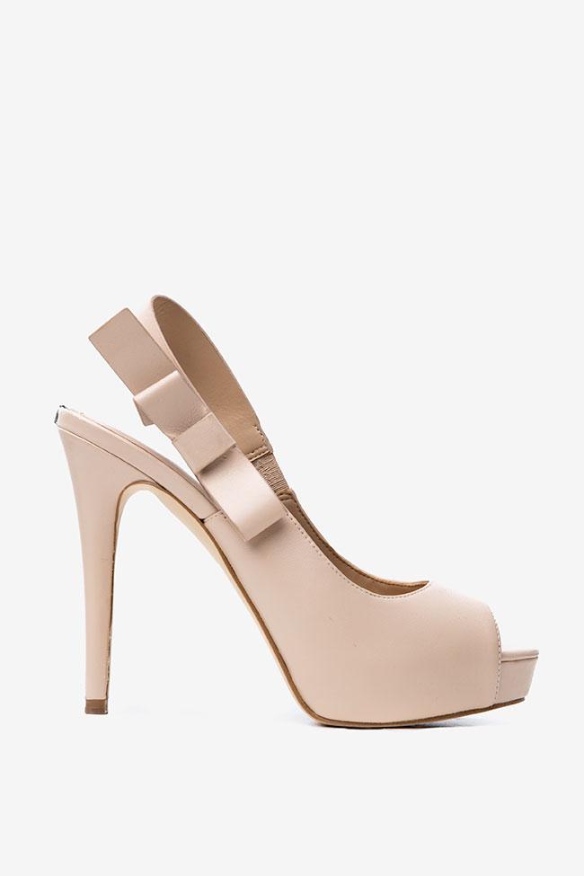Sandale roz prafuit Guess imagine 0