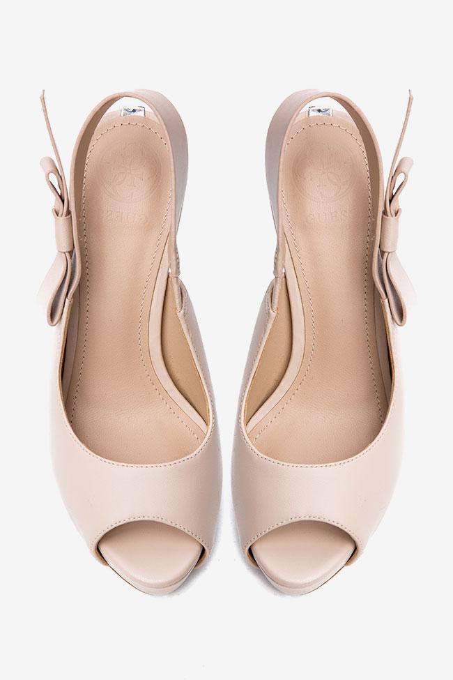 Sandale roz prafuit Guess imagine 1