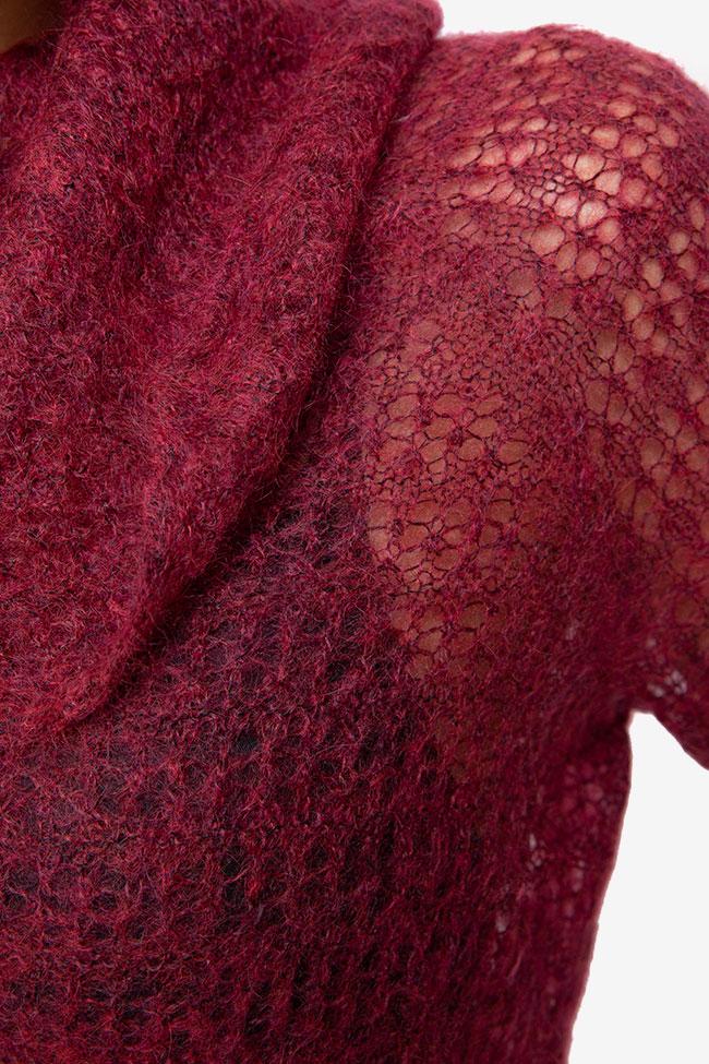 Pulover din lana Stefanel imagine 1