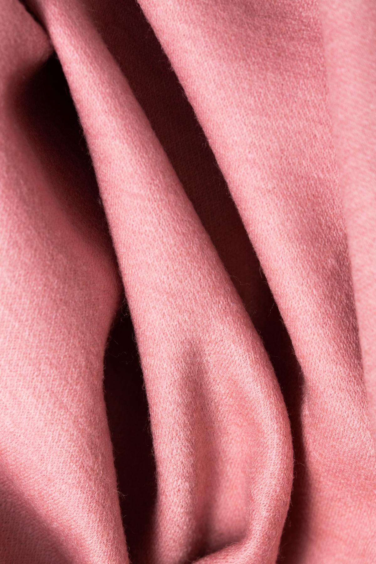 Rochie roz din lana cu cordon in talie Marella imagine 2
